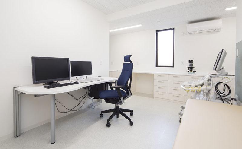 加南クリニック診察室
