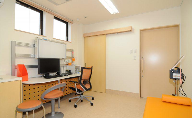 いむれ内科クリニック 診察室