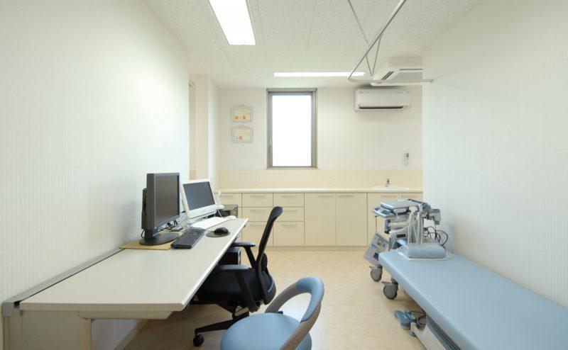 上條医院 診察室