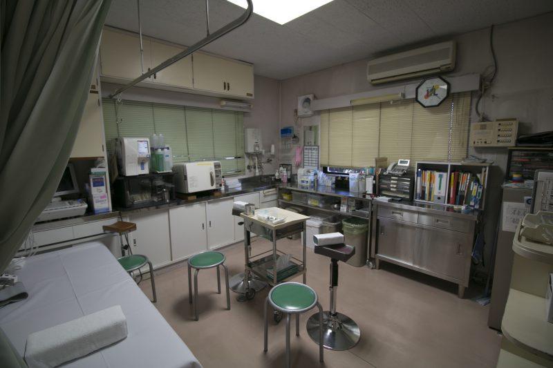 かすがい内科 処置室 Before