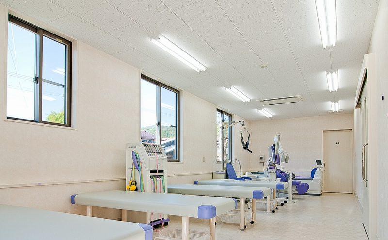 山田醫院 処置室 リハビリ室
