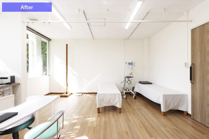 ひばりクリニック処置室After