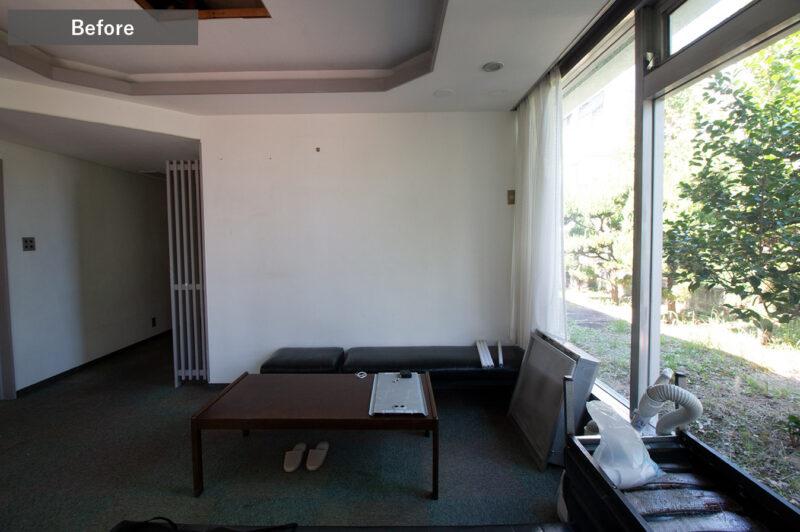 ひばりクリニック待合室Before2