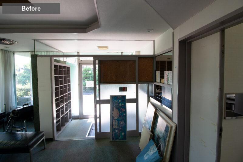 ひばりクリニック待合室Before3