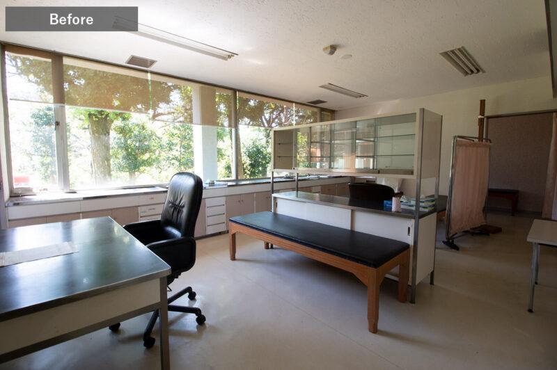 ひばりクリニック診察室Before2