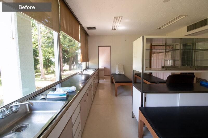 ひばりクリニック処置室Before