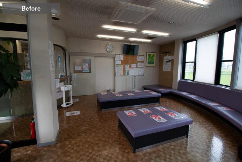 旧すぎのクリニック待合室2