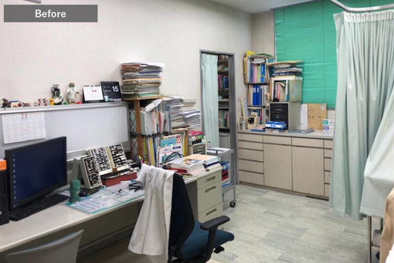 旧すぎのクリニック診察室1